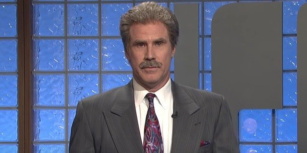 This image has an empty alt attribute; its file name is alex-trebek-will-ferrell.jpg